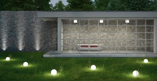 Illuminazione giardino tutto quello che devi sapere - Lampade da giardino da terra ...