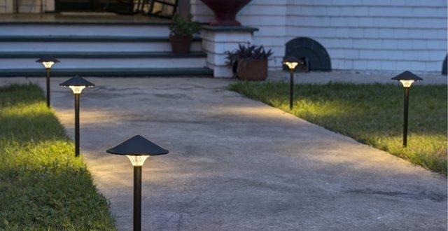 Illuminazione vialetto
