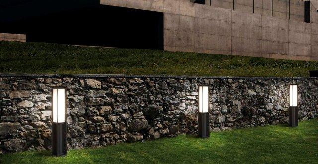 Lampade da giardino da terra lampada da terra moderna in