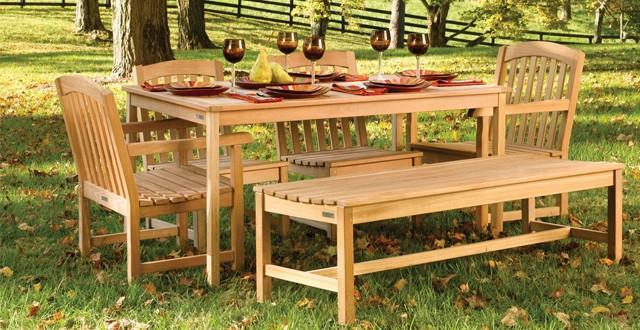 I mobili in legno la scelta pi naturale per il giardino - Mobili per giardino in legno ...
