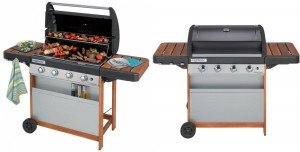 Barbecue a gas WOODY