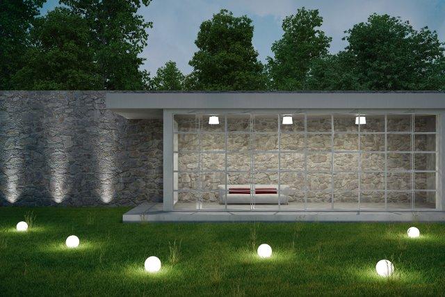 arredamento giardino illuminazione