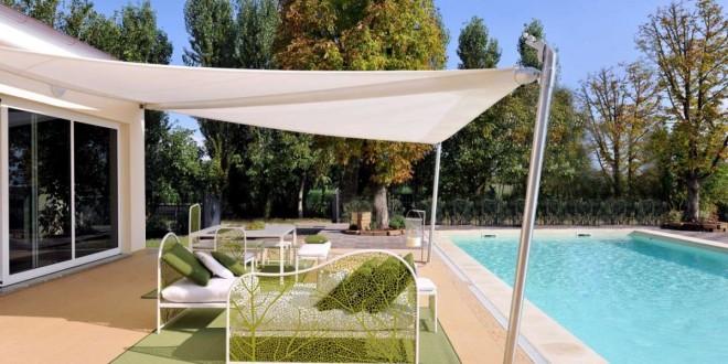 Tende A Vela Per Esterno.Vele Ombreggianti Design E Funzionalita Per Ripararsi Dal Sole