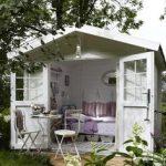 casette in legno da giardino salotto