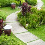 pavimento da giardino sentiero