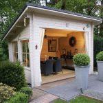 casette in legno da giardino sala