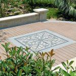 pavimento da giardino mosaico