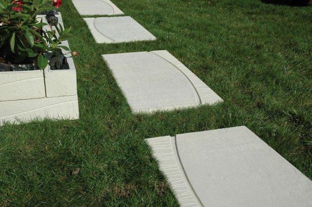 Come scegliere e progettare un pavimento da giardino - Piastrelle giardino cemento ...