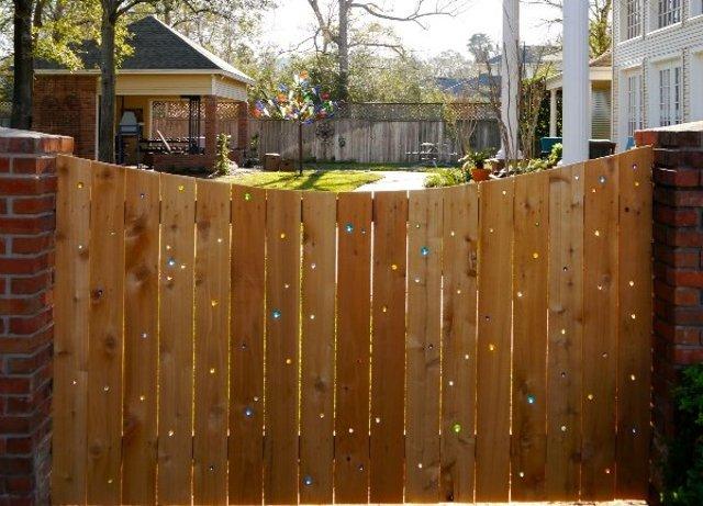 recinzioni per giardino biglie