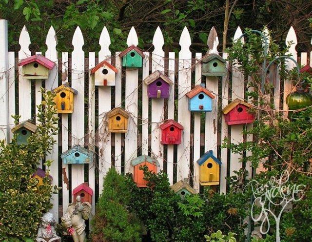 recinzioni per giardino casette