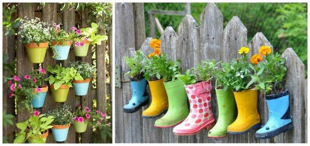 recinzioni per giardino fioriere