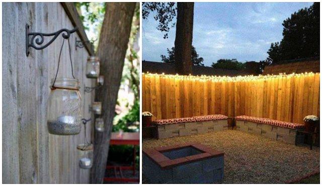 recinzioni per giardino lanterne