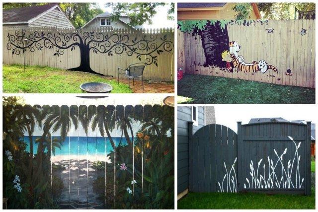 recinzioni per giardino murale