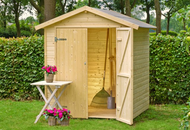 Casette Da Giardino Brico : Come e dove comprare una casetta in legno bricoliamo con casette