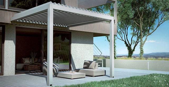 Costruire tettoie verande pensiline pergolati e tende for Costruire una tettoia addossata