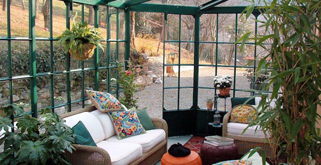 Giardino Dinverno Veranda : Giardino d inverno cos è e tante idee per realizzarlo