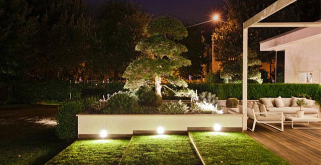 foto: illuminazione da giardino