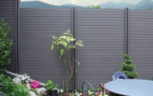 Recinzione da giardino in wpc arreda il giardino
