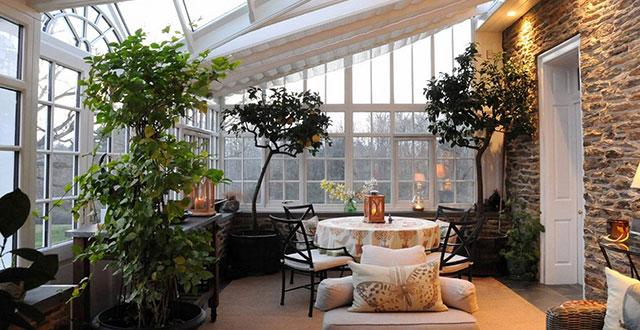 foto giardini d'inverno