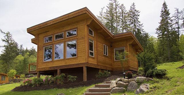 Come risparmiare con le case in legno prefabbricate for Durata case in legno