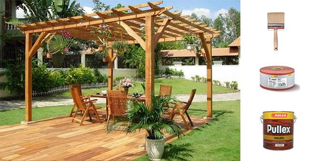 Come trattare il legno consigli e prodotti per pavimenti e mobili da esterno - Mobili in legno da esterno ...