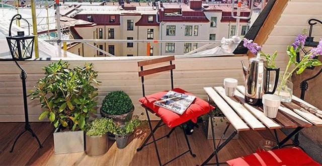 mobili per arredare un terrazzo