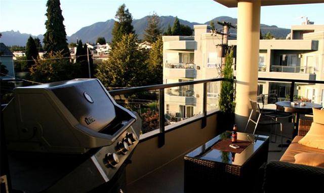 barbecue da terrazzo