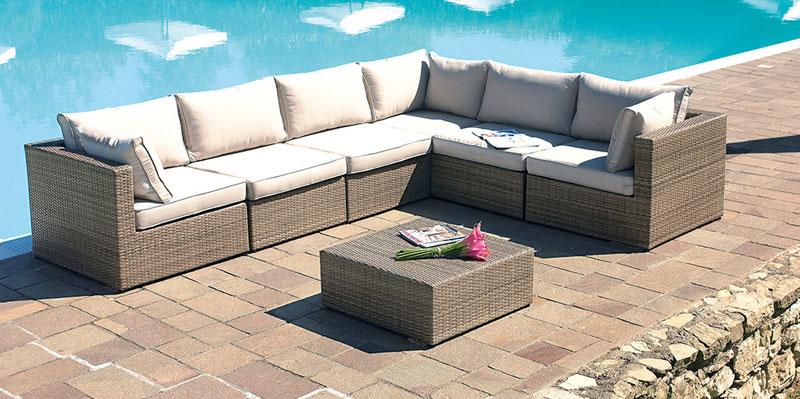 Arredo da giardino in rattan e piscine qualit e design for Arreda durante