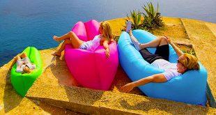 Hangout sofà, il pouf gonfiabile
