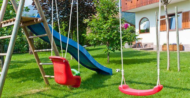 come arredare un giardino per bambini
