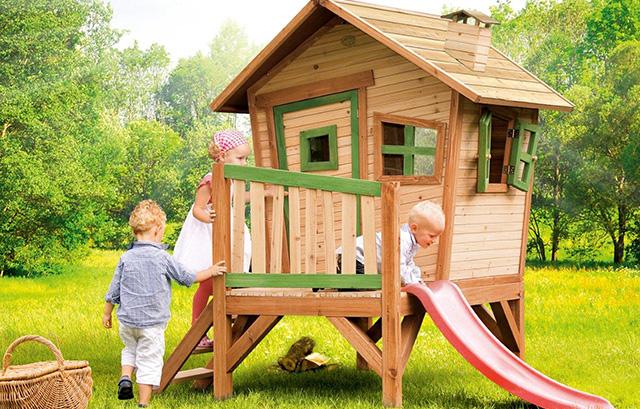 Idee per come arredare un giardino per bambini foto - Casetta da giardino per bambini feber ...