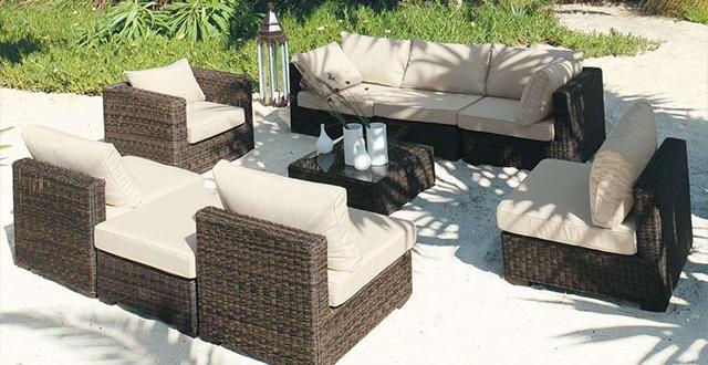 cuscini per divanetti da giardino