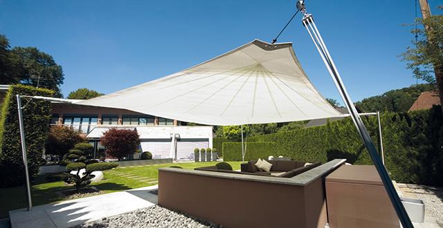 Ombrelloni professionali per giardini terrazze