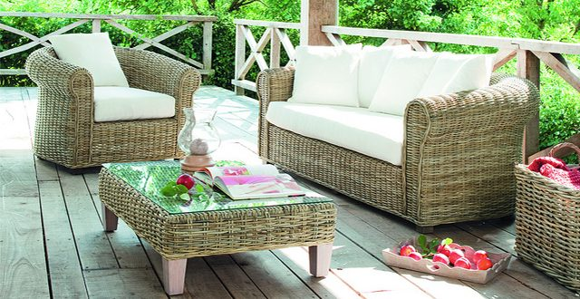 Poltrone sdrai o divanetti da giardino l arredo pi for Divanetti giardino