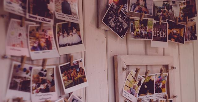 Vita da igers: polaroid appesa alla parete