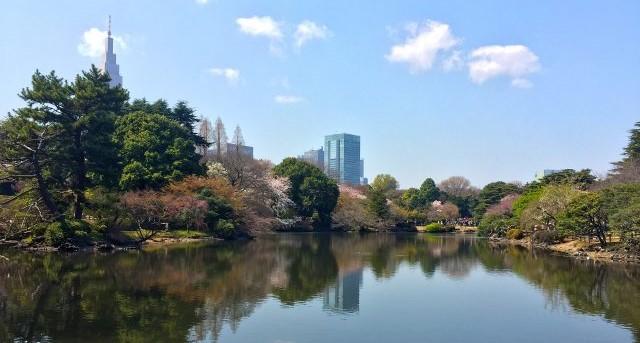 Il giardino giapponese sfrutta il paesaggio intorno per eliminare i suoi confini