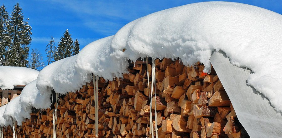 teloni per coprire legna
