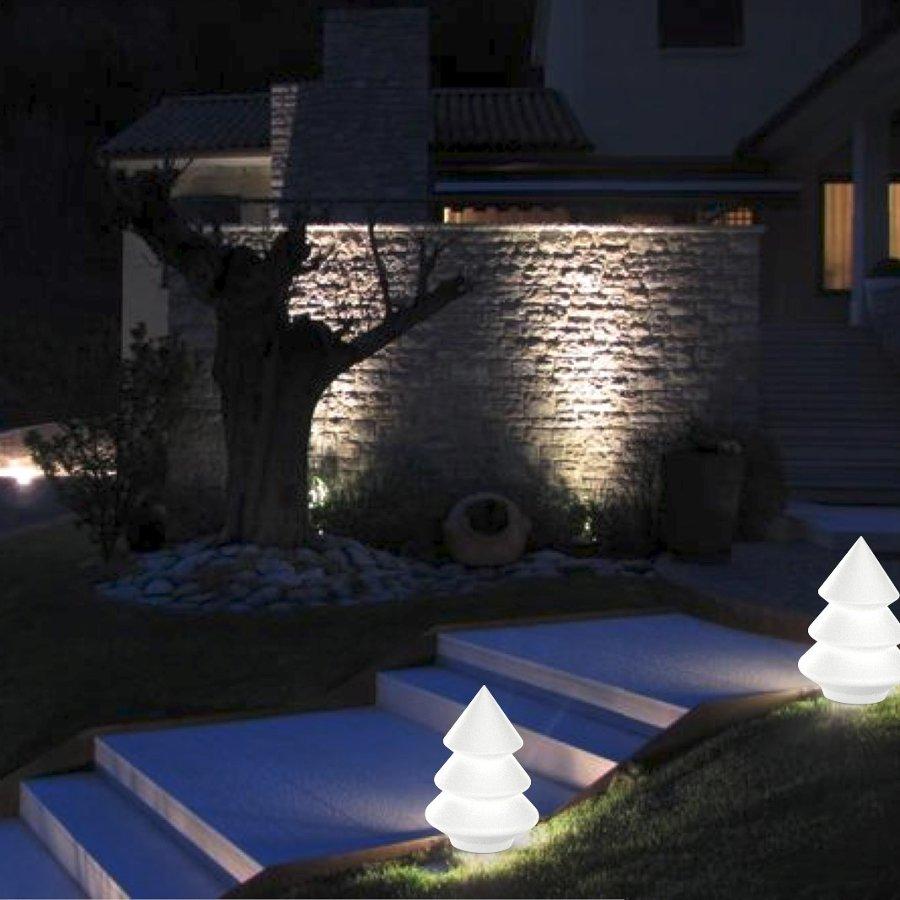 9 idee di decor e arredo natalizio per la casa e il giardino for Idee di casa di piano aperto