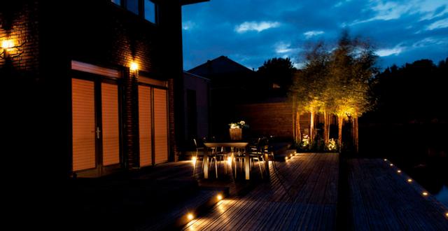 lampade esterne per giardino