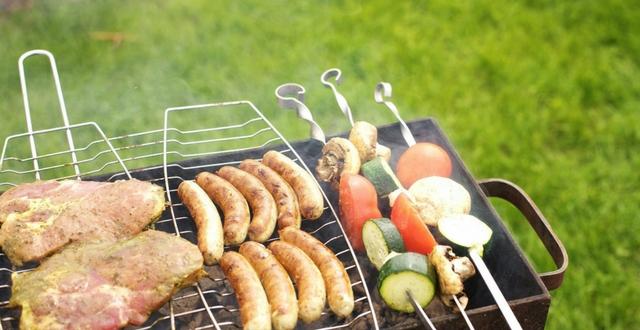 cucinare all'aperto