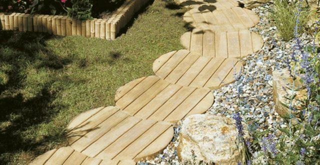 Camminamenti per giardino praticit e design alla portata - Pietre giardino ...