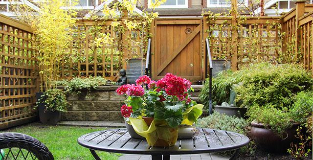 giardino pensile privacy