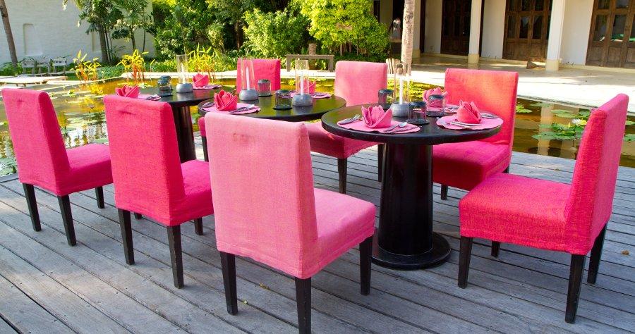 sedute e tavolini da giardino