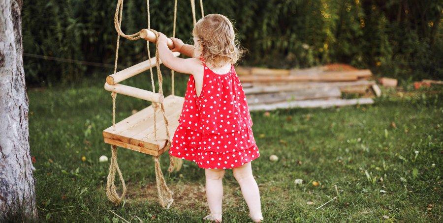 altalena da giardino per bambini