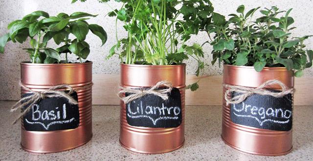 idee-giardino-fai-da-te-erbe-aromatiche-barattoli-latta