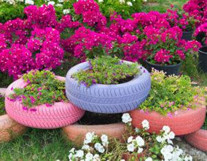 idee-giardino-fai-da-te-orizzontale-fioriera-penumatico
