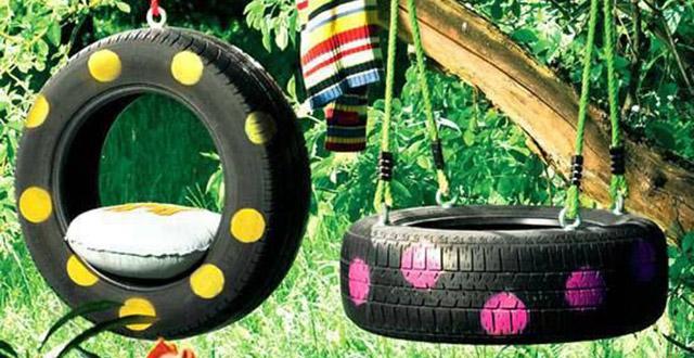 idee-giardino-fai-da-te-pneumatico-altalena