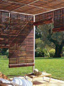 pergola da giardino veneziane