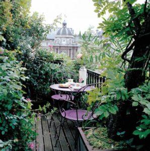 piante per privacy su balcone