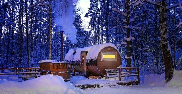tinozza in legno Finlandia